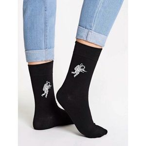 Astronaut High Socks 🖤
